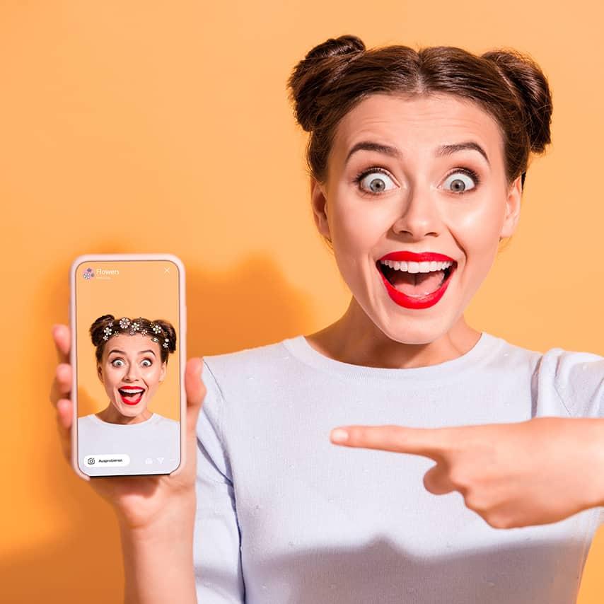 instagram stories, spark ar, face filter, instagram filter, stylink