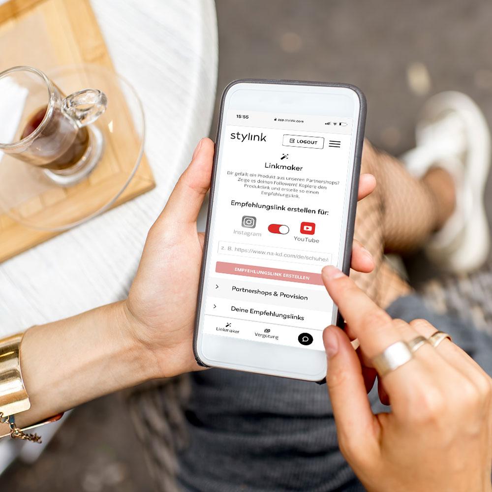 stylink, Vergütungsplattform für Influencer, Instagram Geld verdienen, YouTube Geld verdienen, Blog, stylink X YouTube, Linkmaker