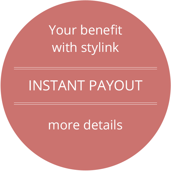 stylink, instagram, youtube, tiktok, influencer, instant payout
