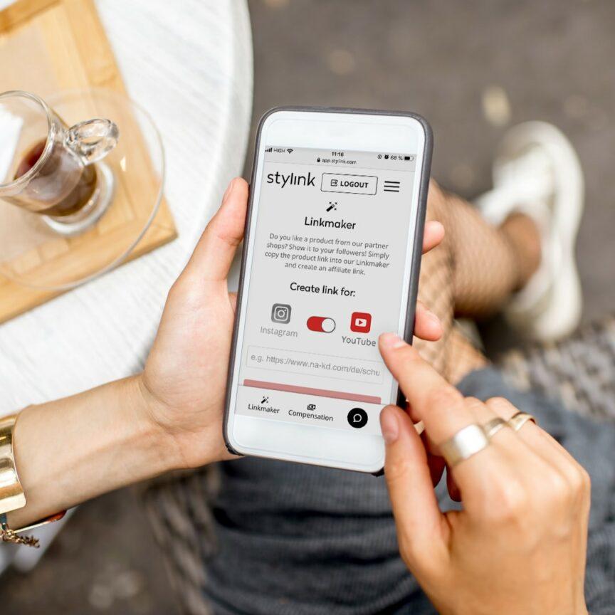 stylink, influencer platform, youtube, affiliate platform