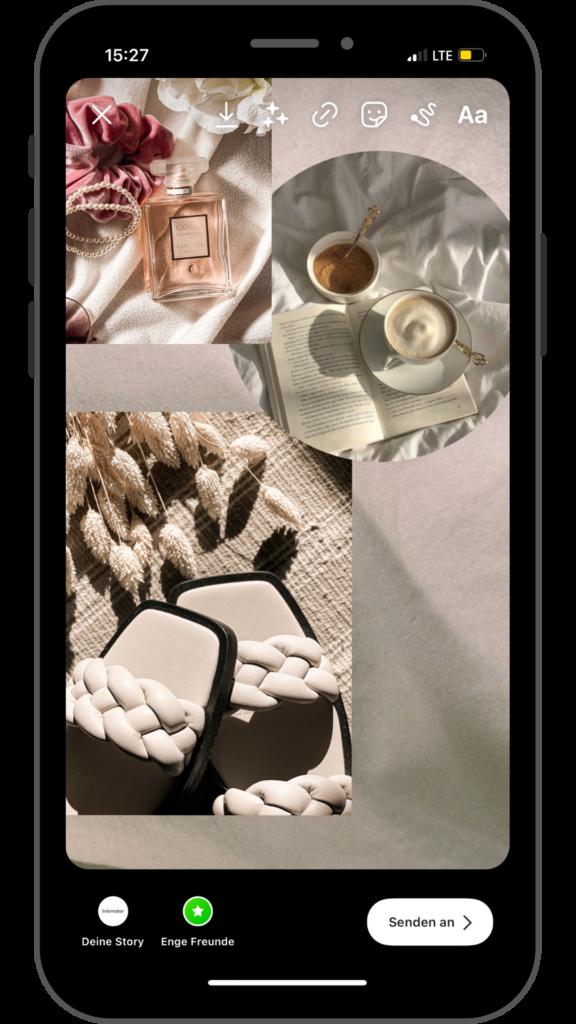 stylink, vergütungs-plattform, influencer, instagram geld verdienen, youtube geld verdienen, instagram story, instagram story tutorial, collage